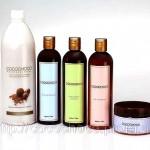 Набор для кератированных волос: шампунь, маска, бальзам, комплекс